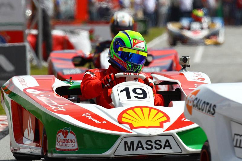 Hoje em dia, Massa sobe no kart mais para se divertir