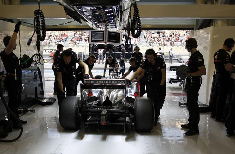 A McLaren revelará o carro de 2012 dia 1º de fevereiro