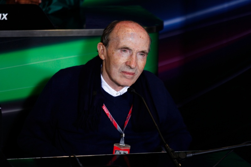 Frank Williams é conhecido por postergar bastante suas negociações