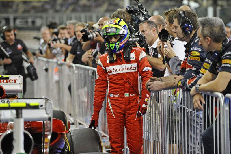 Massa prepara-se para sua sétima temporada na Ferrari