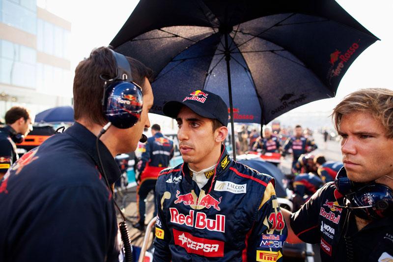 Buemi correu três anos pela Toro Rosso