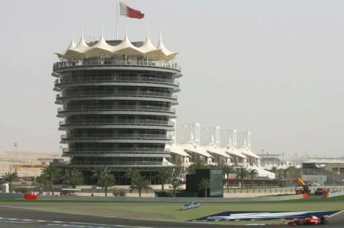 Cenário do GP do Bahrein