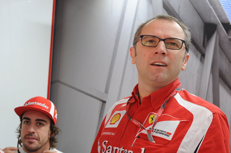 Alonso e Domenicali