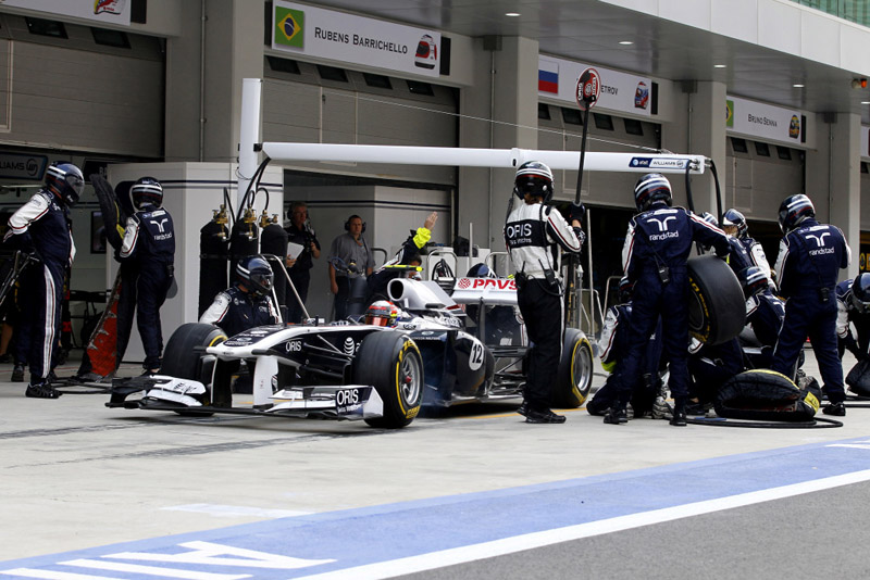 Williams promete pit stops mais rápidos