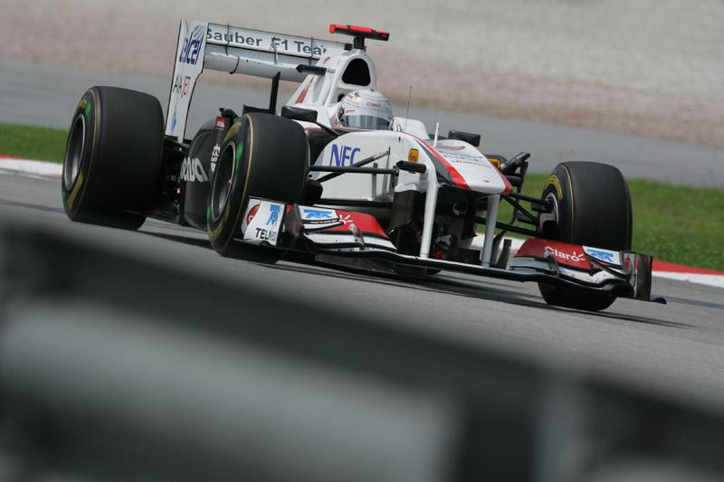 Kobayashi reconheceu que a Sauber tem muito trabalho pela frente