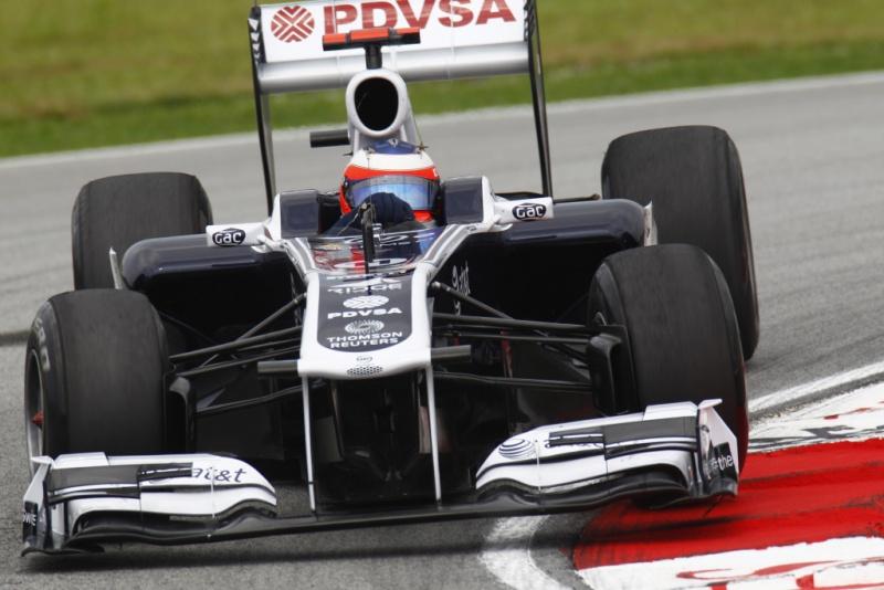 Barrichello destaca falta de velocidade do carro da Williams