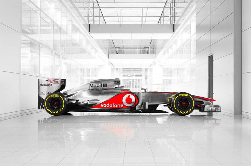 O novo modelo da McLaren, apresentado hoje