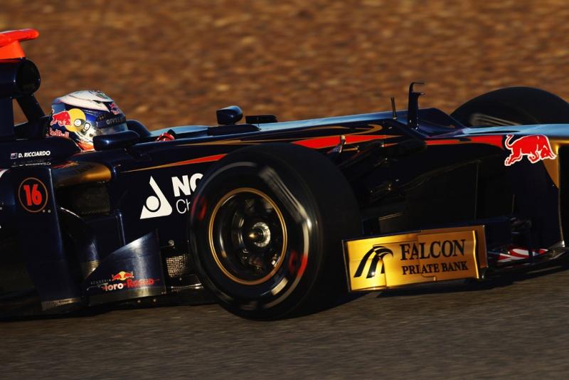 Daniel Ricciardo em ação