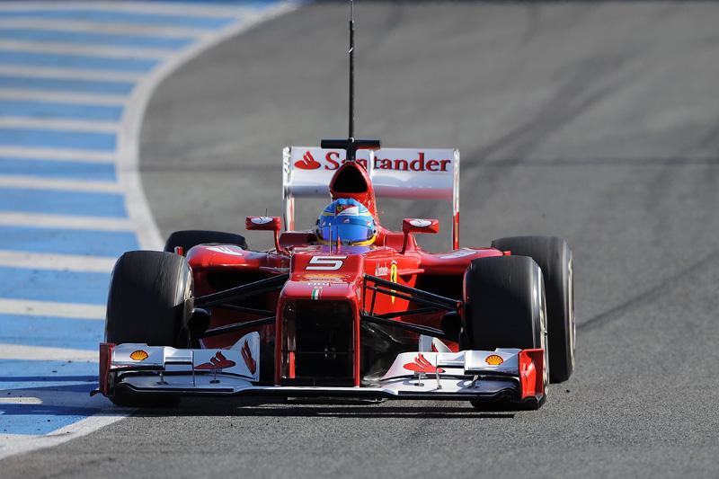 Fernando Alonso em Jerez