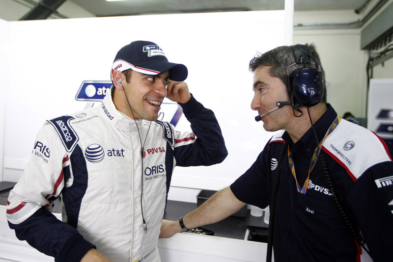 Maldonado destacou o fato de ter mais pneus novos que os rivais