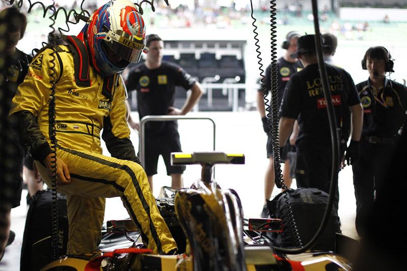 Para Petrov, tanto faz se chover ou não na corrida