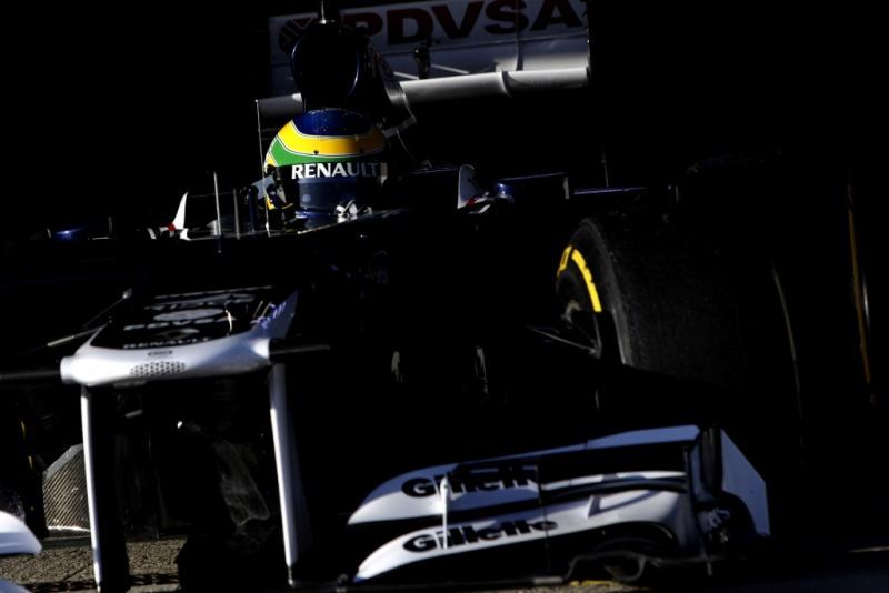 Senna andou por dois dias em Jerez