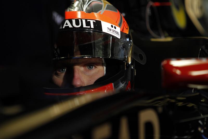 Grosjean havia sido o mais rápido em Jerez