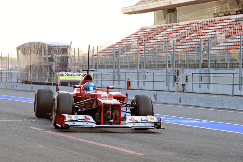 Alonso fez avaliações aerodinâmicas na manhã desta terça
