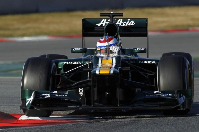 Vitaly Petrov, novo piloto da Caterham