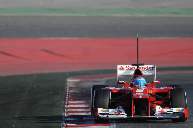 Fernando Alonso em Barcelona