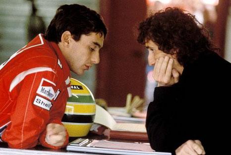 Prost e Senna foram companheiros em 1988 e 1989