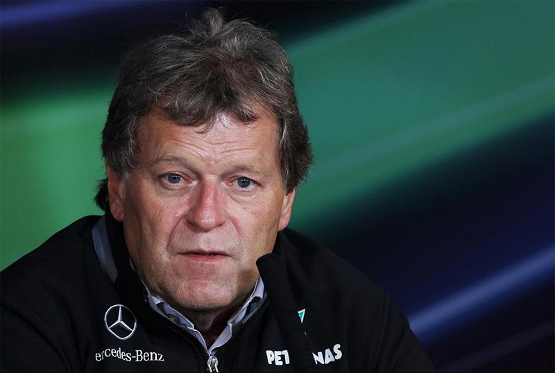 O vice-presidente de automobilismo da Mercedes, Norbert Haug
