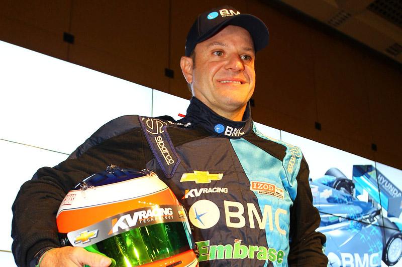 Rubens Barrichello e sua nova