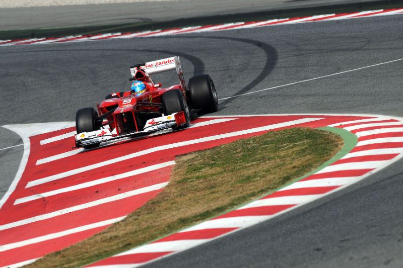 Alonso foi segundo no último dia de testes de pré-temporada