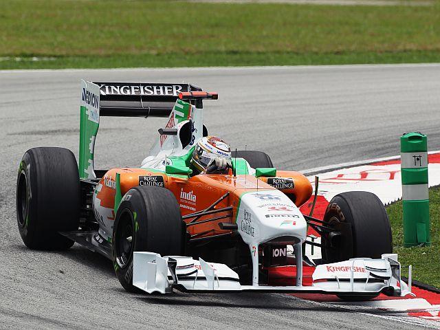 A Force India tem tido melhor desempenho nas corridas do que nos treinos