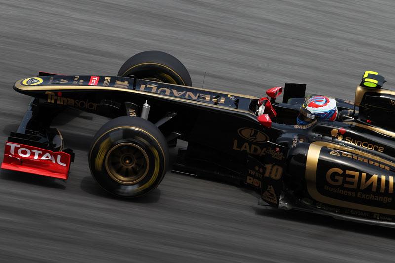 Petrov está animado com o rendimento da Renault