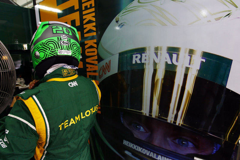 Kovalainen mostrou bom ritmo no GP da Malásia
