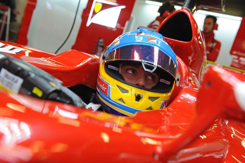 Alonso inicia sua terceira temporada pela Ferrari