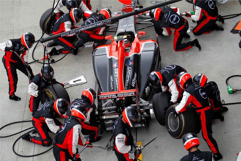 Virgin se recuperou um pouco na corrida após uma classificação ruim