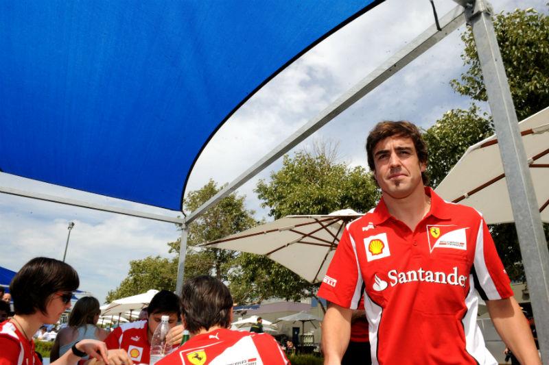 Alonso confia no poder de reação da Ferrari