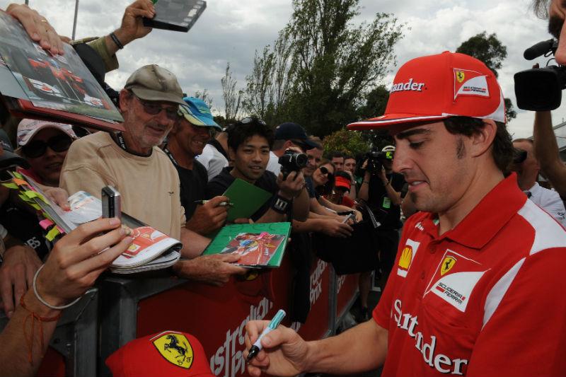 Alonso não vê título em 2012 especial por presença de seis campeões