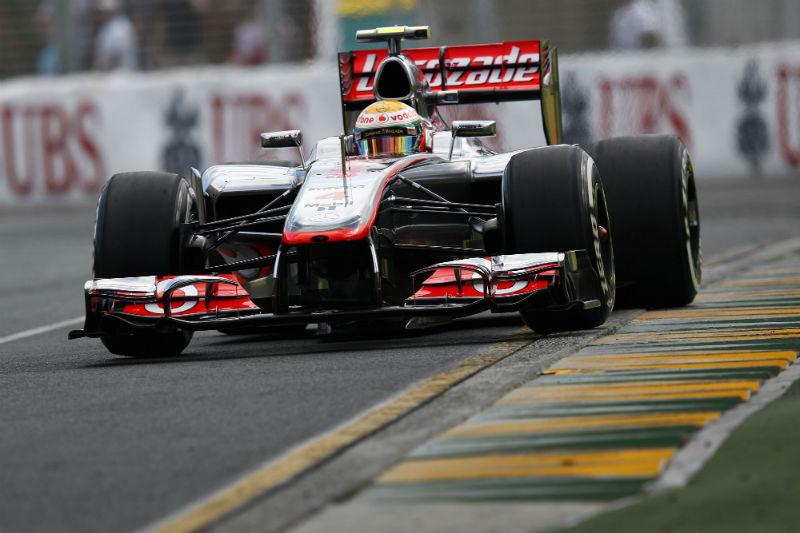 Hamilton é o pole na Austrália
