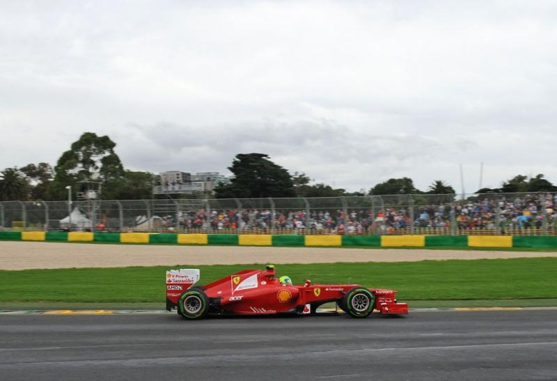 Felipe Massa não conseguia grip de seu pneu