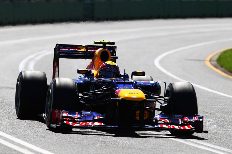 Webber superou Vettel na classificação australiana