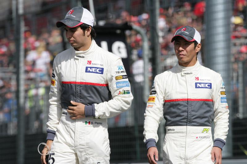 Kobayashi e Perez foram bem na Austrália