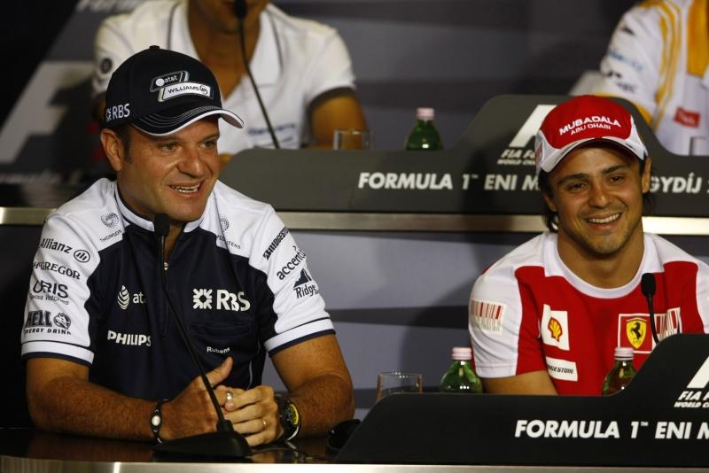Barrichello e Massa lideraram o pedido dos pilotos da F-1 por mudanças na curva do Café