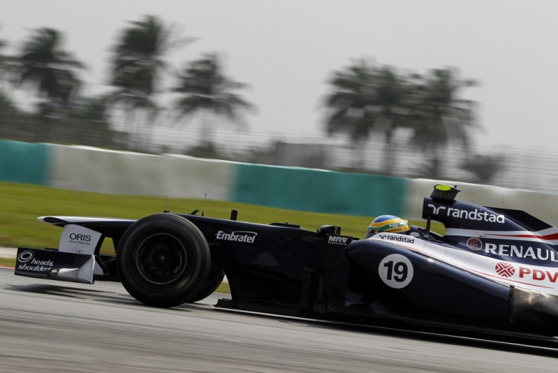 Bruno Senna larga em 13º na Malásia