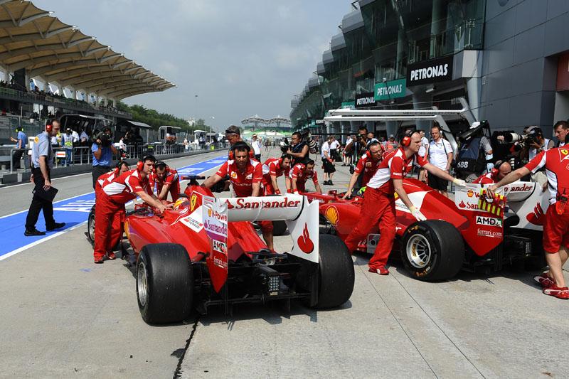 Ferrari está correndo atrás do prejuízo