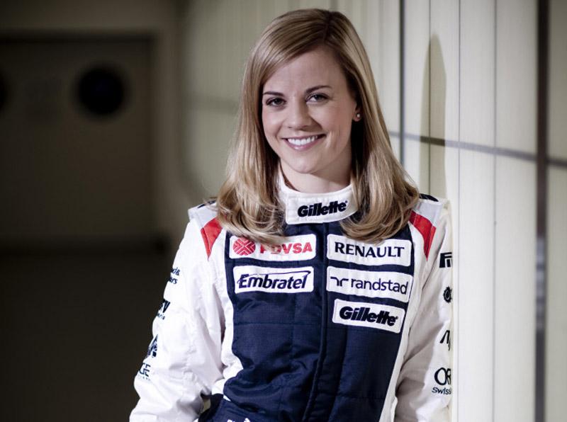 A nova piloto da Williams, Susie Wolff