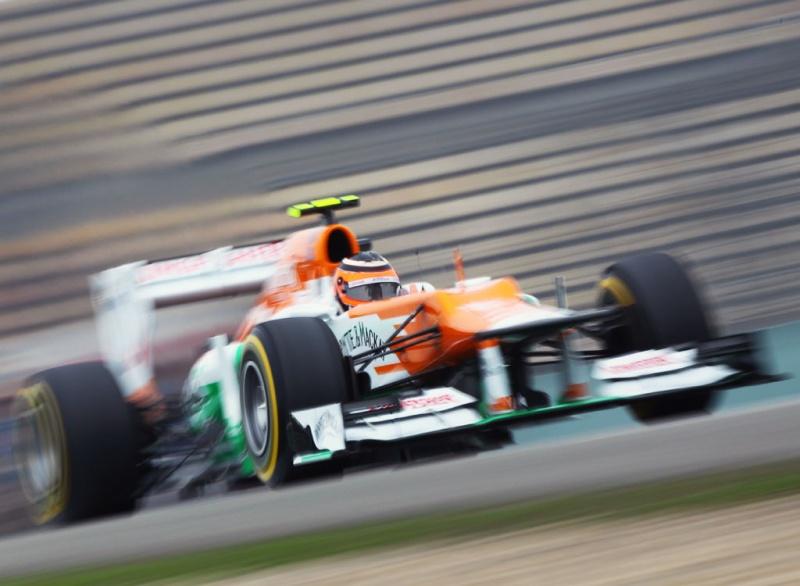 Force India está rápida