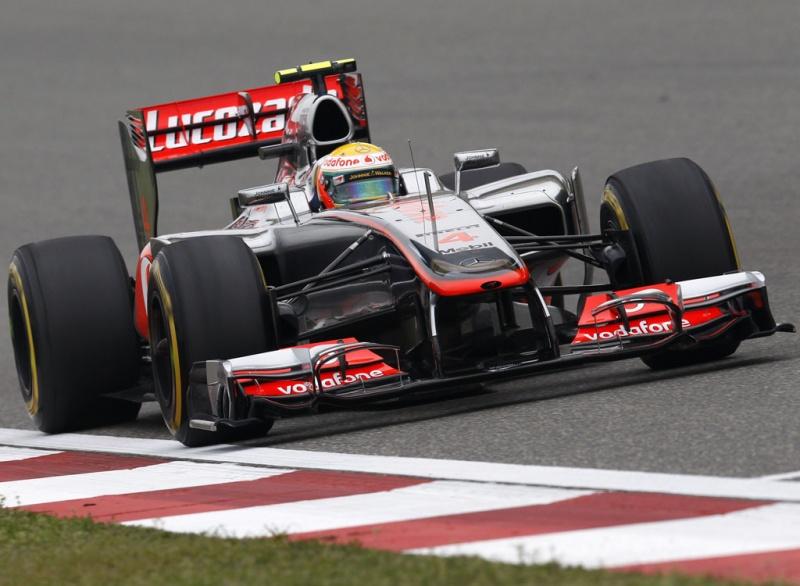 Assim como no FP1, Hamilton lidera sessão