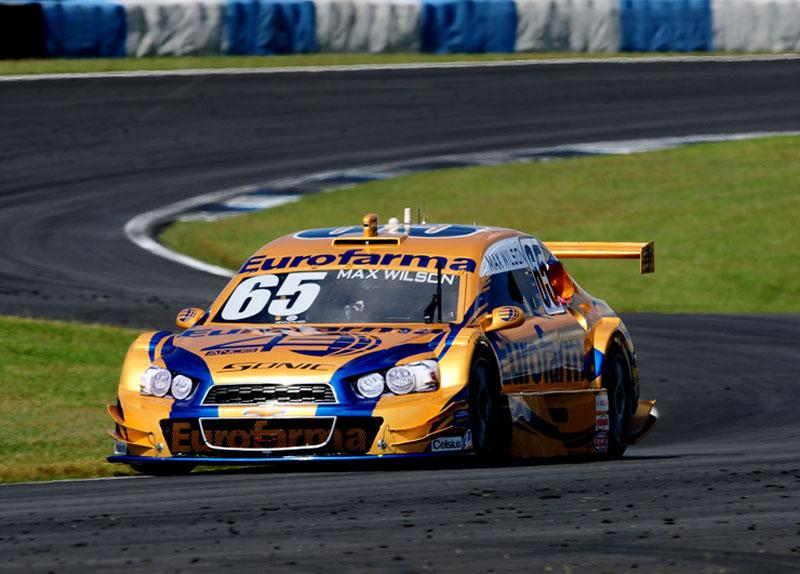 Max foi segundo em Curitiba
