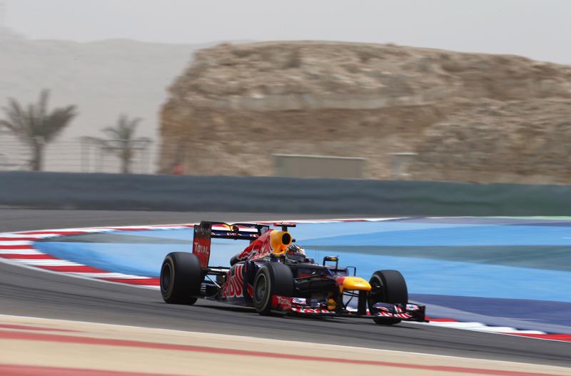 Vettel fez o terceiro tempo do dia