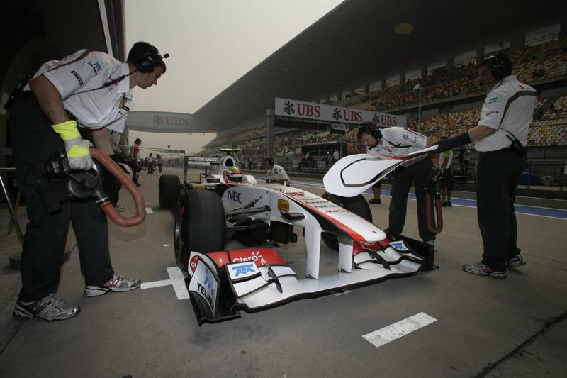 Sergio Perez acredita que o ritmo de corrida da Sauber está bom