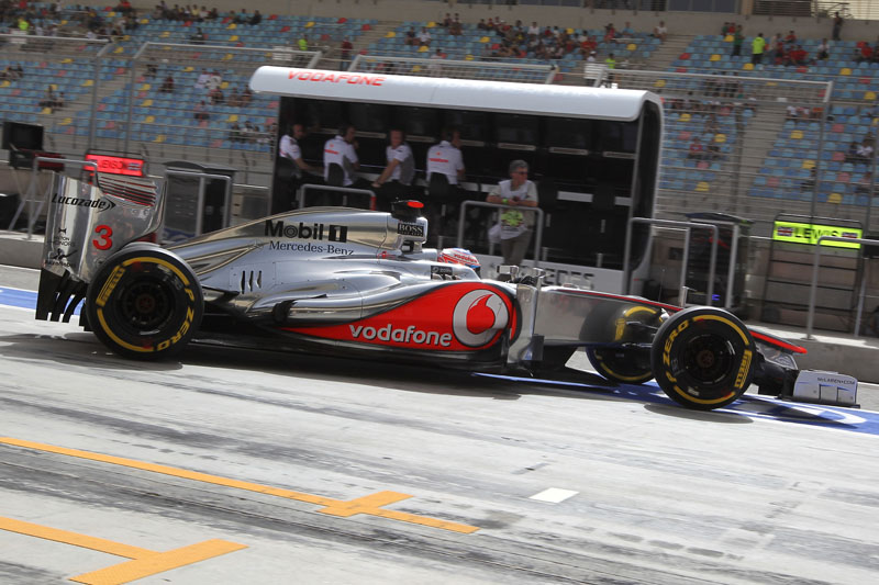 Para McLaren, testes de Mugello serão muito úteis