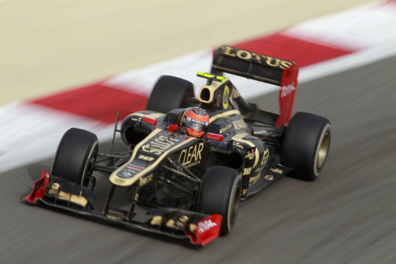 Grosjean conquistou seu primeiro pódio no Bahrein