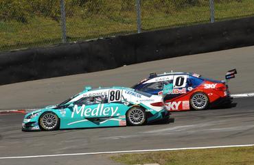 Gomes e Cacá duelam no Velopark em 2011