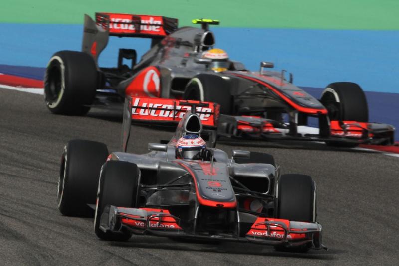 McLaren fez pódio com ambos os pilotos em 2011