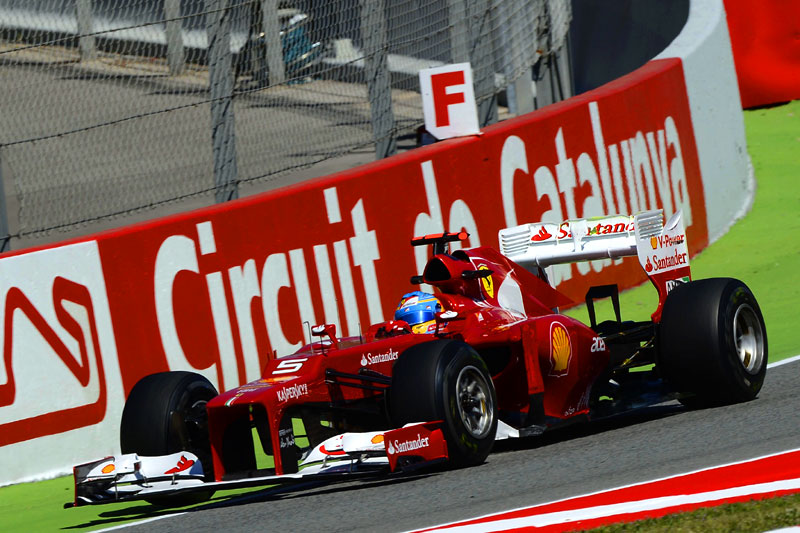 Alonso tratou de conter as expectativas