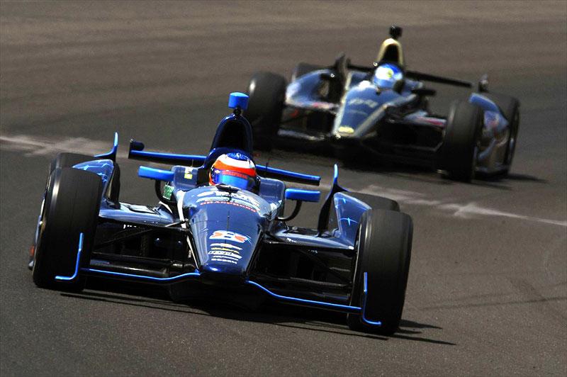 Rubens Barrichello e Jean Alesi